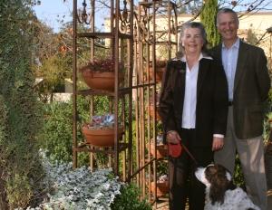 Betty & Charlie McKenney -Arlington Garden